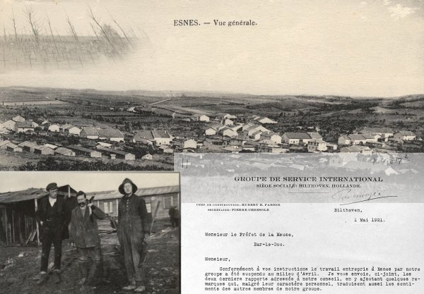 The first worcamp of SCI - Esnes near Verdun 1920